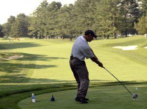 air horn golf prank tee off